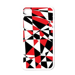 Shattered Life Tricolor Apple Iphone 4 Case (white) by StuffOrSomething
