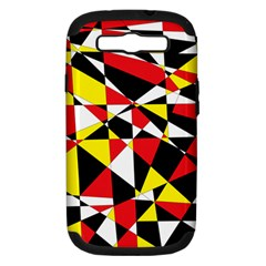 Shattered Life With Rays Of Hope Samsung Galaxy S Iii Hardshell Case (pc+silicone) by StuffOrSomething