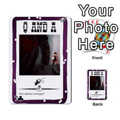 Robroost 1 Of 2 By Nukeme1   Multi Purpose Cards (rectangle)   Tvsgat3ax7nv   Www Artscow Com Front 41