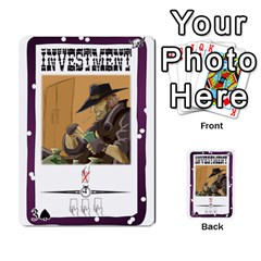 Robroost 1 Of 2 By Nukeme1   Multi Purpose Cards (rectangle)   Tvsgat3ax7nv   Www Artscow Com Front 45