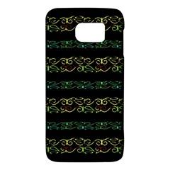 Modern Lace Stripe Pattern Samsung Galaxy S6 Hardshell Case