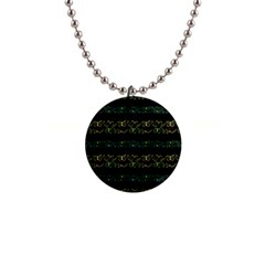 Modern Lace Stripe Pattern Button Necklace