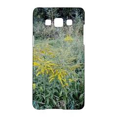 Yellow Flowers, Green Grass Nature Pattern Samsung Galaxy A5 Hardshell Case  by ansteybeta