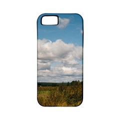 Rural Landscape Apple Iphone 5 Classic Hardshell Case (pc+silicone) by ansteybeta