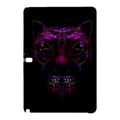 Creepy Cat Mask Portrait Print Samsung Galaxy Tab Pro 12 2 Hardshell Case by dflcprints
