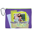 family - Canvas Cosmetic Bag (XL)