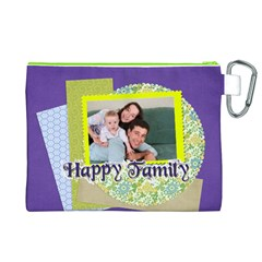Family By Joely   Canvas Cosmetic Bag (xl)   1e2wbl7rv020   Www Artscow Com Back