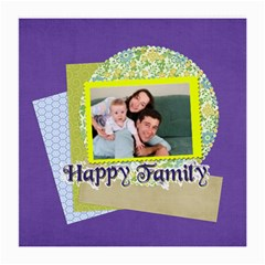 Family By Joely   Medium Glasses Cloth (2 Sides)   5qts5r1fqqii   Www Artscow Com Front