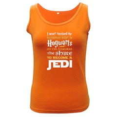 Howarts Letter Women s Tank Top (dark Colored) by empyrie