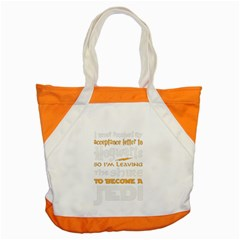 Howarts Letter Accent Tote Bag by empyrie