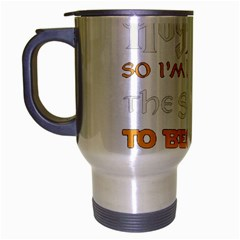 Howarts Letter Travel Mug (silver Gray) by empyrie