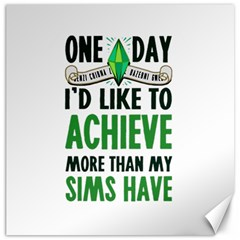 Sims Canvas 20  x 20  (Unframed) by empyrie