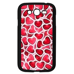Candy Hearts Samsung Galaxy Grand Duos I9082 Case (black) by KirstenStar