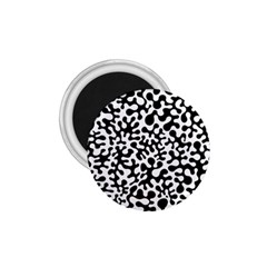 Black and White Blots 1.75  Button Magnet by KirstenStar