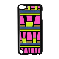 Trapeze And Stripes Apple Ipod Touch 5 Case (black) by LalyLauraFLM
