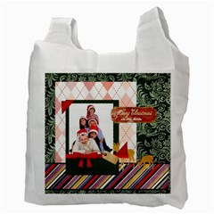 Xmas By Betty   Recycle Bag (two Side)   L3w351km9la4   Www Artscow Com Back
