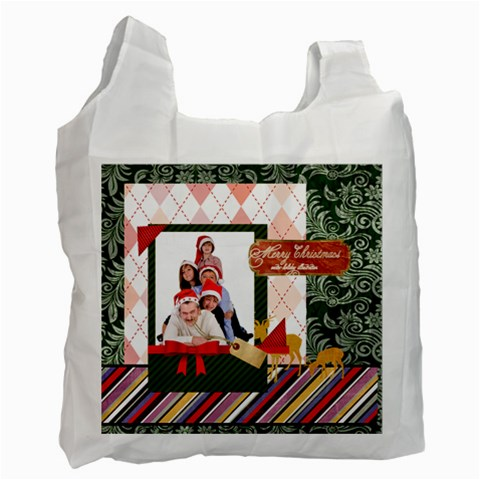 Xmas By Betty   Recycle Bag (one Side)   428fpskwqyqk   Www Artscow Com Front