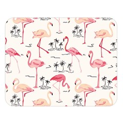 Flamingo Pattern Double Sided Flano Blanket (large)  by Contest580383