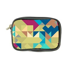 Scattered pieces in retro colors Coin Purse by LalyLauraFLM