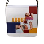 baby - Flap Closure Messenger Bag (L)