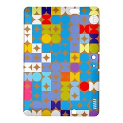 Circles And Rhombus Pattern Kindle Fire Hdx 8 9  Hardshell Case by LalyLauraFLM
