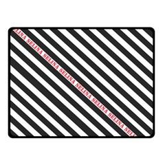 Selina Zebra Fleece Blanket (small) by Contest580383