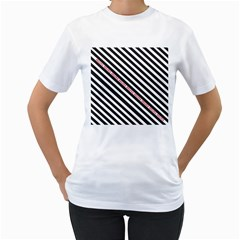 Selina Zebra Women s T Shirt (white)