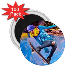 Skateboarding On Water 2 25  Magnets (100 Pack)  by icarusismartdesigns