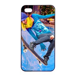 Skateboarding On Water Apple Iphone 4/4s Seamless Case (black) by icarusismartdesigns