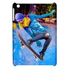 Skateboarding On Water Apple Ipad Mini Hardshell Case by icarusismartdesigns
