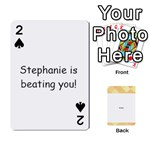 Stephanie - Playing Cards 54 Designs
