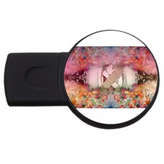 Cell Phone - Nature Forces USB Flash Drive Round (1 GB)  by infloence