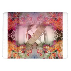 Nature And Human Forces Cowcow Samsung Galaxy Tab 10.1  P7500 Flip Case by infloence