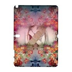 Nature And Human Forces Cowcow Samsung Galaxy Note 10.1 (P600) Hardshell Case by infloence