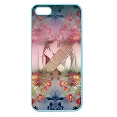 Nature And Human Forces Cowcow Apple Seamless Iphone 5 Case (color) by infloence