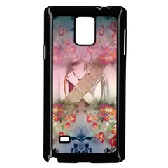 Nature And Human Forces Cowcow Samsung Galaxy Note 4 Case (Black) by infloence