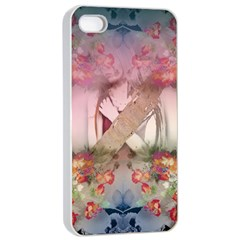 Nature and Human Forces Apple iPhone 4/4s Seamless Case (White) by infloence