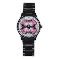 Natureforces Abstract Stainless Steel Round Watches by infloence