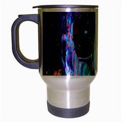 Voyage Of Discovery Travel Mug (silver Gray) by icarusismartdesigns