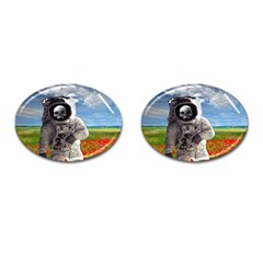 Exodus Cufflinks (oval) by icarusismartdesigns