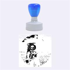 Exodus Rubber Round Stamps (medium) by icarusismartdesigns