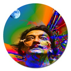 Dream Of Salvador Dali Magnet 5  (round) by icarusismartdesigns