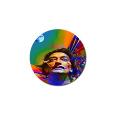 Dream Of Salvador Dali Golf Ball Marker (4 Pack) by icarusismartdesigns
