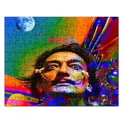 Dream Of Salvador Dali Rectangular Jigsaw Puzzl by icarusismartdesigns