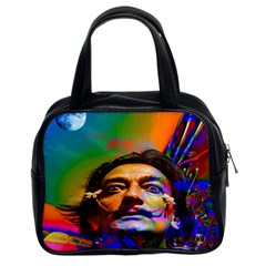 Dream Of Salvador Dali Classic Handbags (2 Sides) by icarusismartdesigns