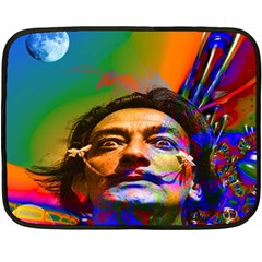 Dream Of Salvador Dali Fleece Blanket (mini) by icarusismartdesigns