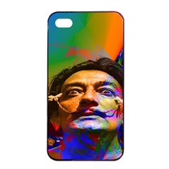 Dream Of Salvador Dali Apple Iphone 4/4s Seamless Case (black) by icarusismartdesigns