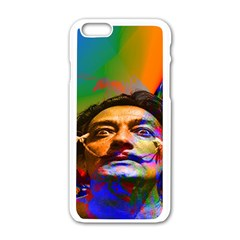 Dream Of Salvador Dali Apple Iphone 6 White Enamel Case by icarusismartdesigns