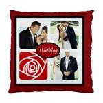 wedding - Standard Cushion Case (One Side)