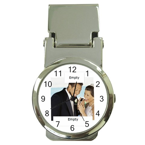 Wedding By Wedding   Money Clip Watch   Pdh8ellbel9p   Www Artscow Com Front